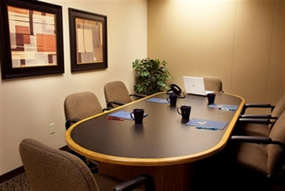 A Quiet, Professional Meeting Space.